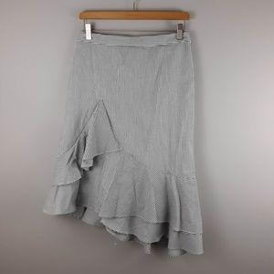 Banana Republic Seersucker Skirt Size 2